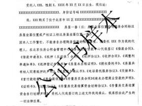 公证委托书翻译